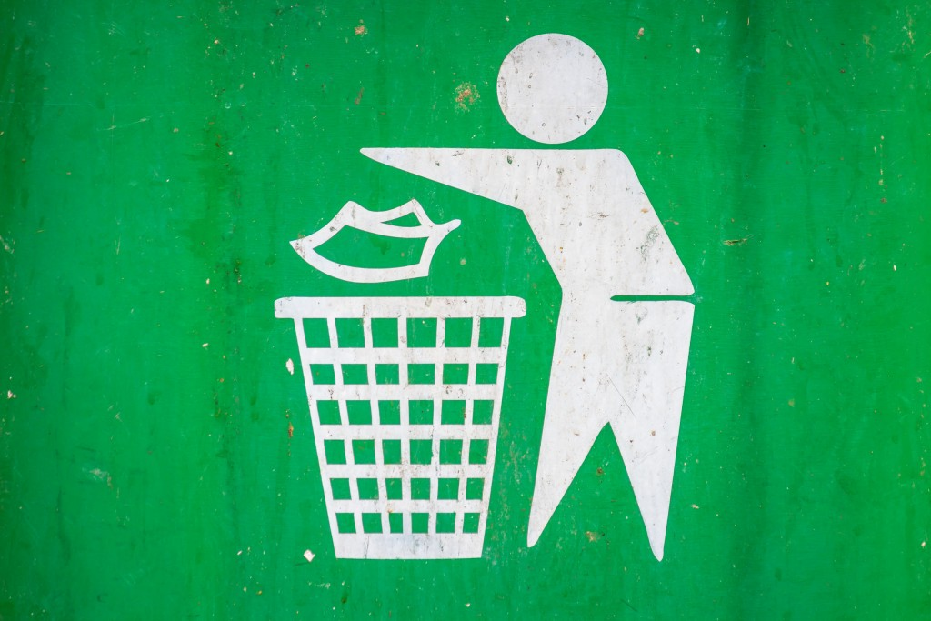 44495719 - recycle bin logo