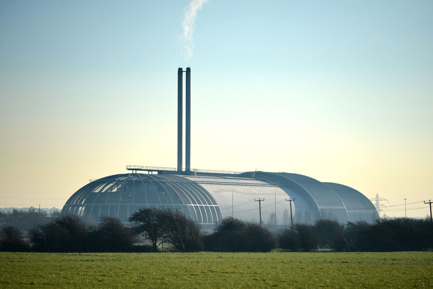 57063493 - incinerator in newhaven, uk, providing power generation
