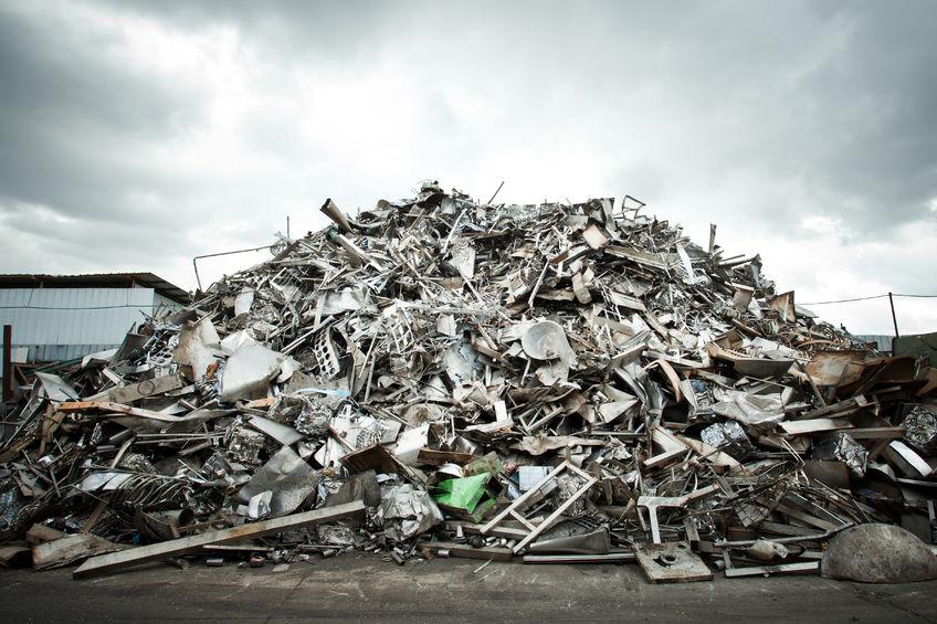 25317888 - pile of aluminium scrap for recycle