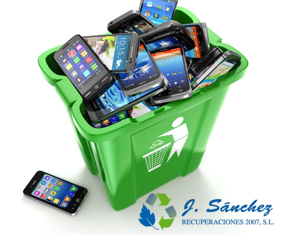 Reciclar aparatos electrónicos