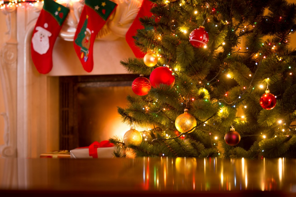 Reciclar el material navideño